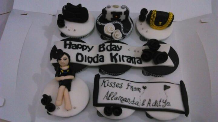 cupcakes ulang tahun chanel