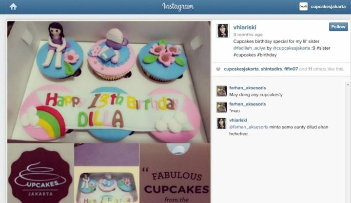 vhia testimonial cupcakes jakarta