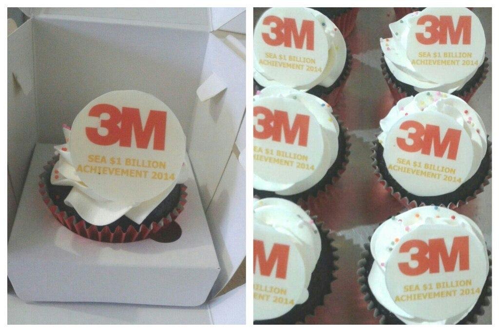 Cupcakes for 3M, delivered to Tambun (22 Januari 2015) & Arkadia (23 Januari 2015)