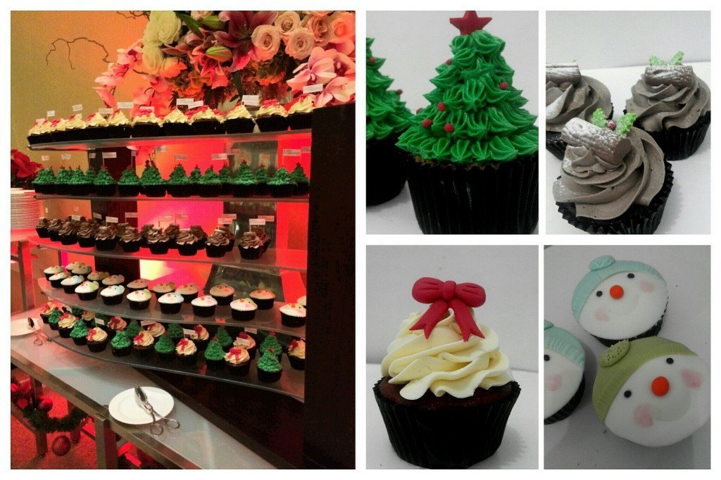 Holiday Event Cupcakes for Casa Domaine Shangri-La - 10 Desember 2014