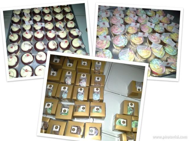 New Year 2013 Cupcakes buat pembukaan Bursa Efek Jakarta