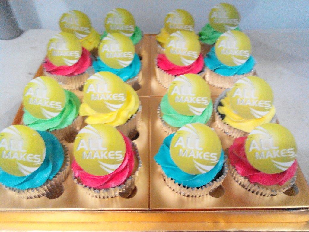 All Makes Colorful Cupcakes (United Tractors) - Februari 2014