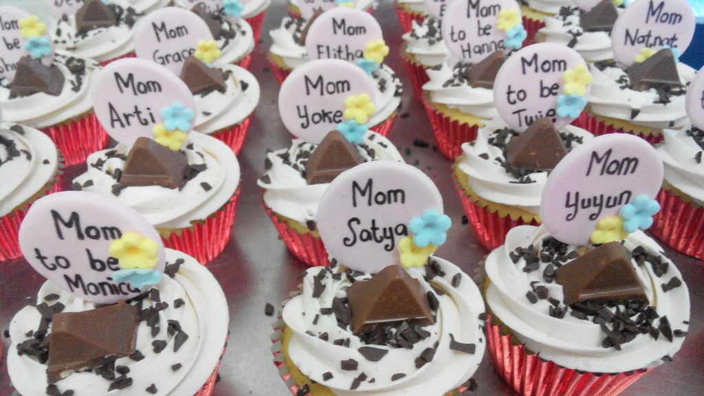 Hari Ibu Toblerone Cupcakes for Wyeth - 19 Desember 2014