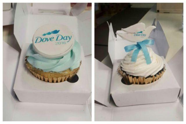 Cupcakes for Dove Day - 6 Oktober 2016