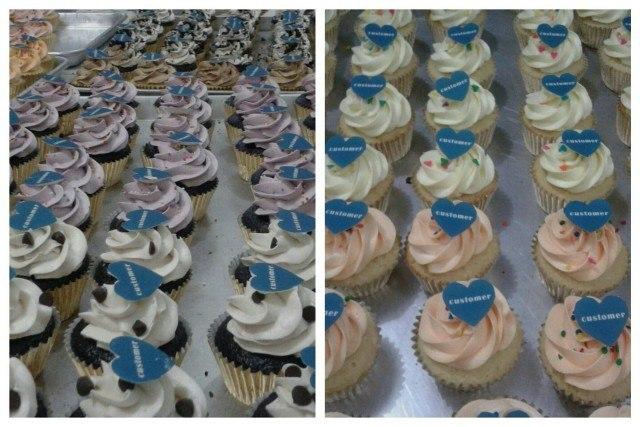 Hari Pelanggan Cupcakes for Inhealth Insurance - 4 September 2015