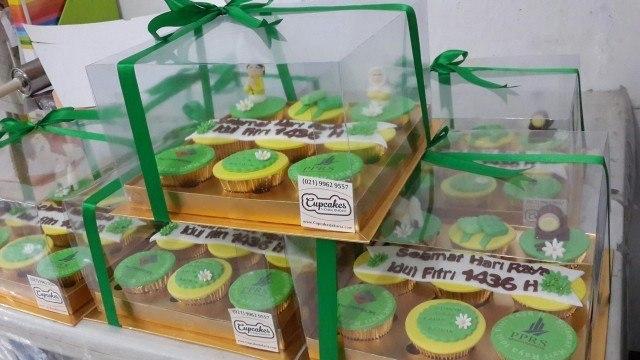 Hari Raya Gift Cupcakes for tenants of Menara Kuningan - Juli 2015