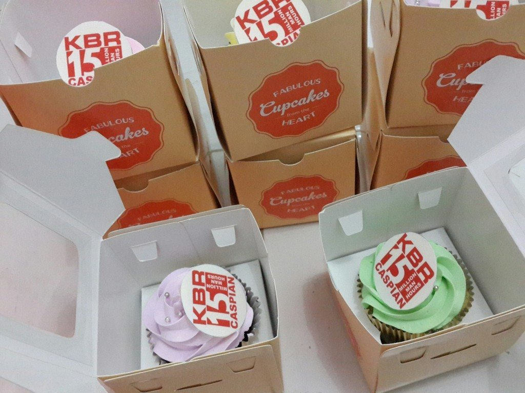 Cupcakes for KBR - Juli 2014