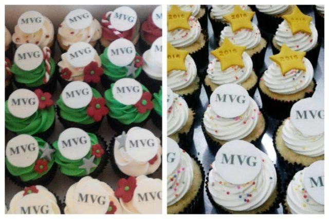 Mini Cupcakes for MVG Lotte Shopping Avenue Christmas & New Year Event