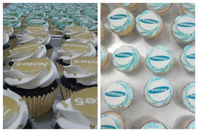 Cupcakes for Samsung Galaxy Note 5 Event - 10 September 2015