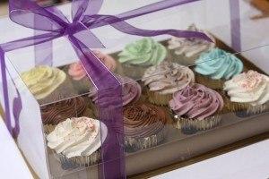 Paket rainbow cupcakes gift