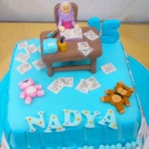 meja belajar cake