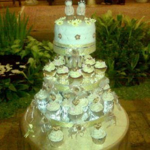 mini wedding cupcake jawa