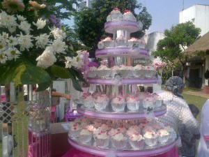 wedding pink putih 2 pondin mei