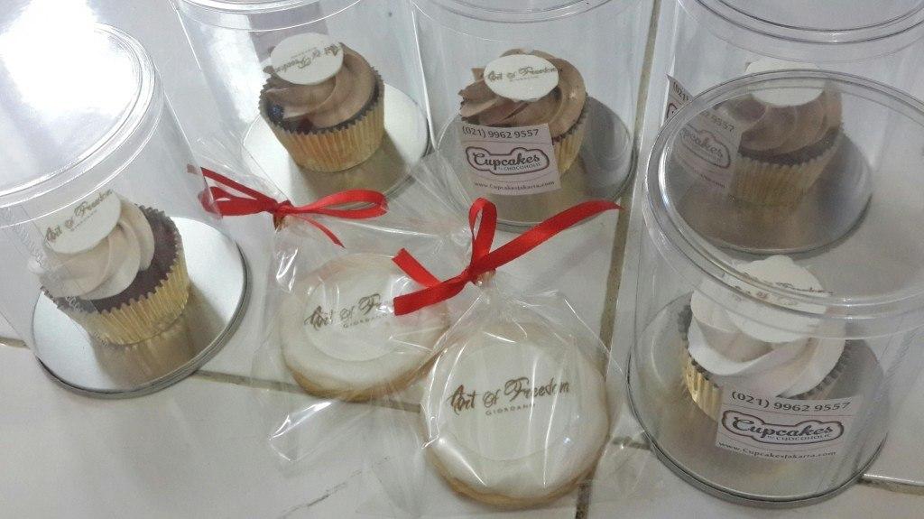 Mini Cupcakes & Cookies for Giordano Souvenir - 30 Oktober 2014