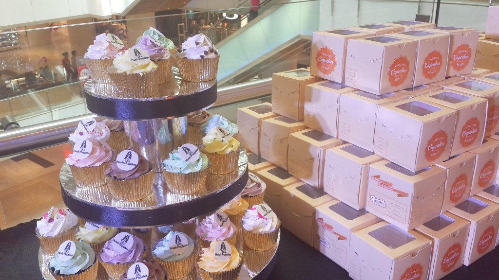 Hush Puppies Cupcakes for New Store Launching - Grand Indonesia 14 November 2014