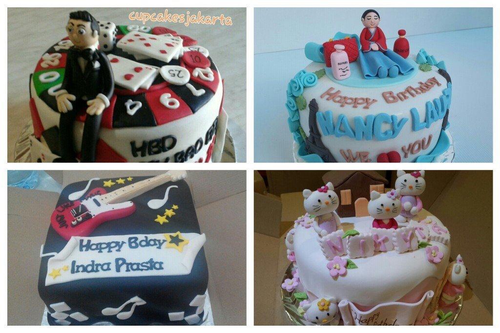 cake ulang tahun 3D