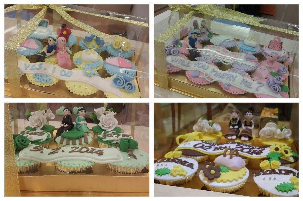 hantaran 2 cupcake