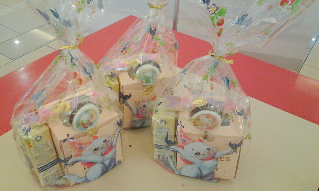 goodie bags cupcake