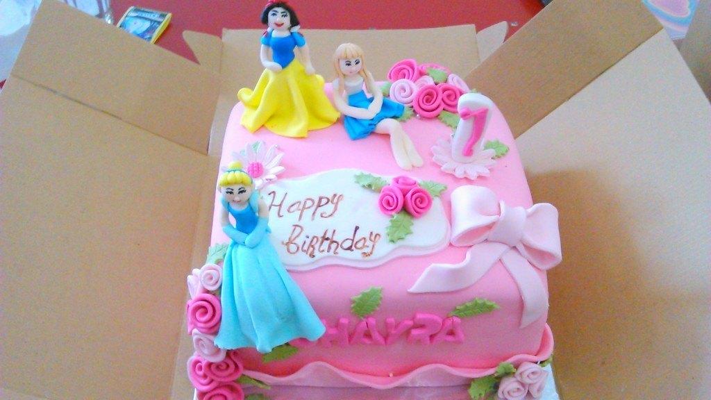 Cake Ulang Tahun Princess Buat Si Cantik