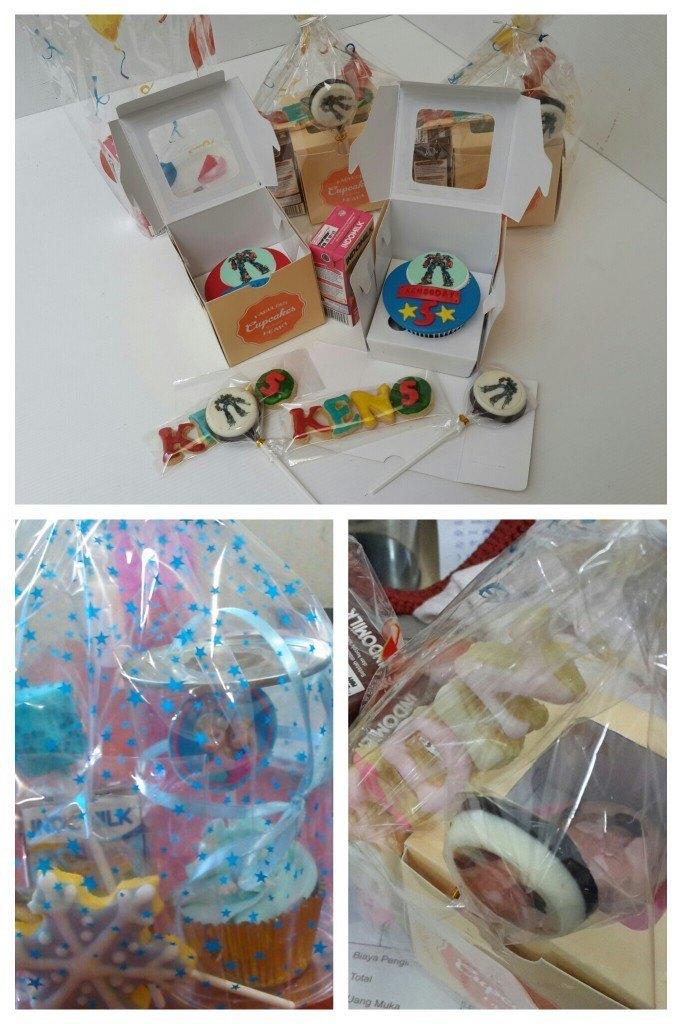 cupcake goodie bag ulang tahun anak