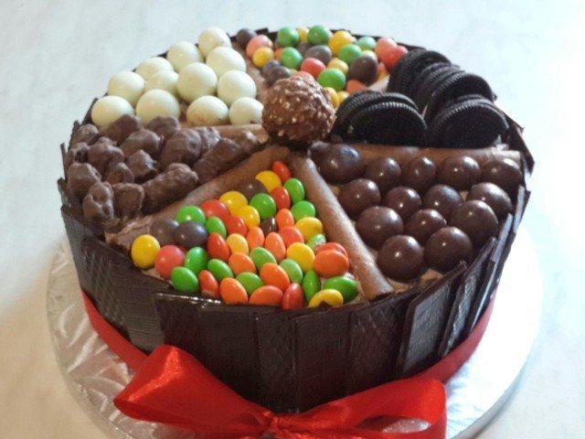 chocolate candy cake mei