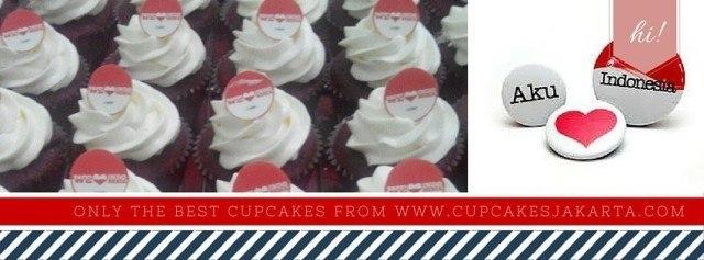 cupcake kemerdekaan