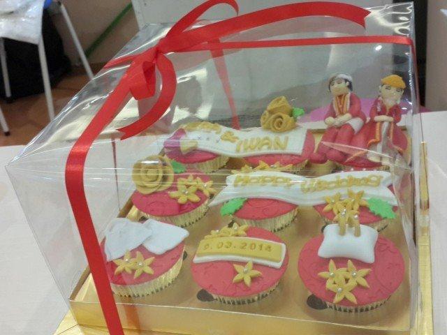 5 Cupcake Hantaran Seserahan Tradisional Paling Unik