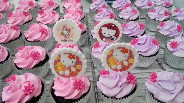 10 Tema Favorit Untuk Cupcake Ulang Tahun Anak Perempuan