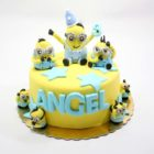Hura Minions Birthday Cake