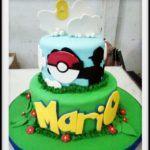 Pokemon Go Birthday Cake Tingkat